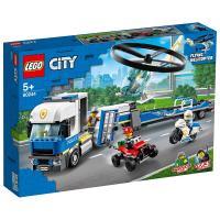 LEGO樂高積木 60244 City 城市系列 Police Helicopter Transport