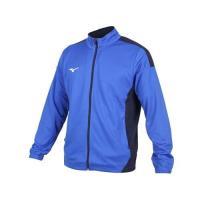 MIZUNO 男針織運動外套-立領外套 慢跑 路跑 抗UV 吸汗速乾