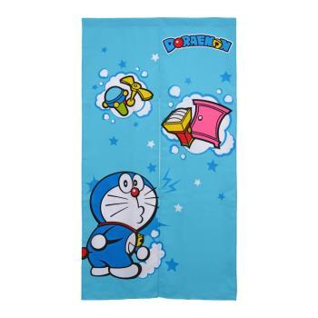 哆啦A夢Doraemon蹦蹦道具長門簾W85xH150cm