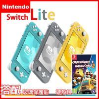 【Nintendo 任天堂】Switch Lite輕量版主機+煮過頭1+2《贈:玻璃保護貼+攜帶包》