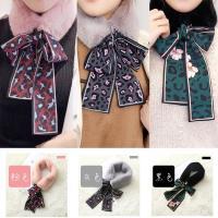 【A1 Darin】韓版時尚仿兔毛豹紋絲巾(3色可選)