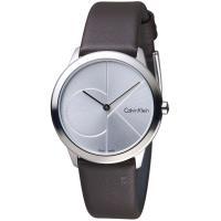 Calvin Klein minimal 大 ck 簡約時尚腕錶(K3M221G6)35mm
