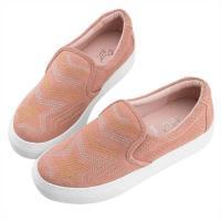 Robinlo 魔幻星星趣味平底休閒鞋 KERN-粉色