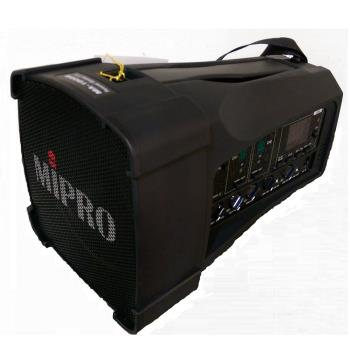 【MIPRO】MA-100DB藍芽版(超迷你肩掛式雙無線喊話器)