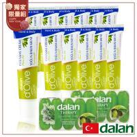 【土耳其dalan】橄欖深層強效滋養手足修護霜12入 冬季限定組(再贈橄欖植物皂10入)