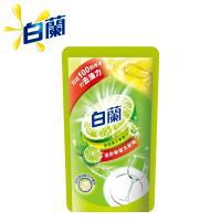 白蘭 動力配方洗碗精補充包800g/包-檸檬