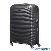 Samsonite新秀麗 28吋Lite Shock極輕Curv四輪拉桿頂級硬殼箱(黑)-98V*09003