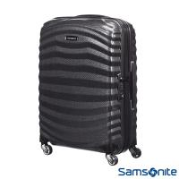 Samsonite新秀麗 20吋Lite Shock極輕Curv四輪拉桿頂級硬殼箱(黑)-98V*09001