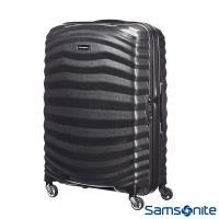 Samsonite新秀麗 25吋Lite Shock極輕Curv四輪拉桿頂級硬殼箱(黑)-98V*09002