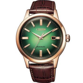CITIZEN 星辰 復刻箱型鏡面機械錶(NK0002-14W)41mm