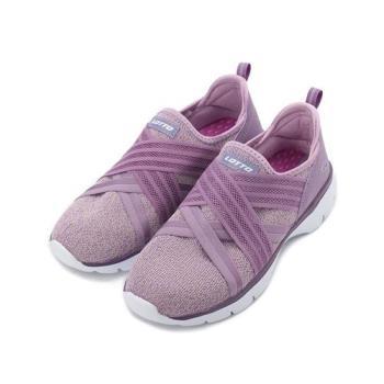 LOTTO SUPER LITE 繃帶健走鞋 紫 LT9AWX1167 女鞋 鞋全家福