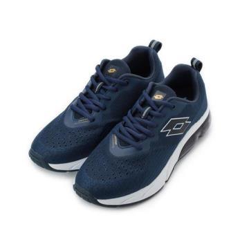 LOTTO NOVA 編織氣墊跑鞋 藍 LT9AMR0696 男鞋 鞋全家福