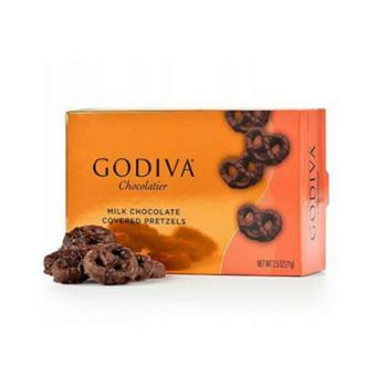GODIVA 蝴蝶餅乾系列-牛奶巧克力蝴蝶餅乾71g