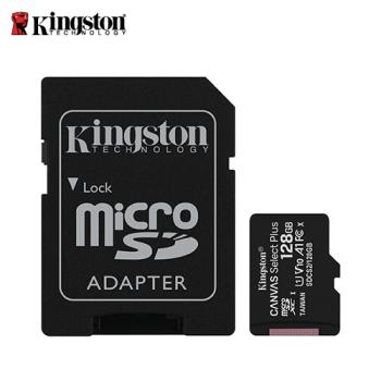 【Kingston 金士頓】Canvas Select Plus microSD 128GB 記憶卡(SDCS2/128GB)