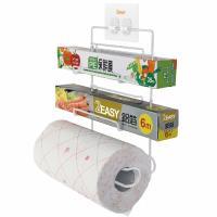 2easy 台製無痕鐵架收納系列 保鮮膜廚房紙巾架
