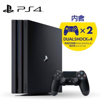 PS4 Pro-1TB 全新CUH-7218系列《極致黑》遊戲主機  加贈1隻手把