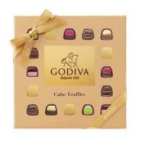 GODIVA Cube立方松露巧克力禮盒 16顆裝 162g