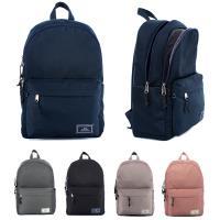 J II 後背包-水洗雙拉鍊後背包-深藍色-6298-2
