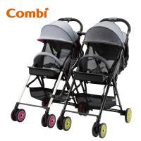 日本Combi F2 plus AJ 嬰兒手推車 (雙車Joint 組合)