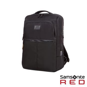 Samsonite RED ARVERN 防水拉鍊筆電後背包15.6(黑)-GT4*09001