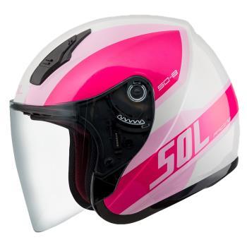 [SOL] SO-8 輕旅 3/4罩(安全帽/機車/內襯/鏡片/半罩/開放式安全帽/小頭款/內藏墨鏡/GOGORO)