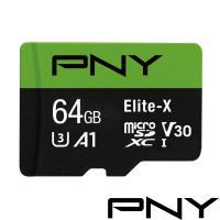 PNY Elite-X U3 MicroSDHC 64GB記憶卡