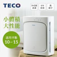 TECO東元 高效節能UV殺菌 空氣清淨機/適用10-15坪NN2402BD 福利品