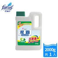 【潔霜】地板清潔劑-檸檬香(2000g/入)