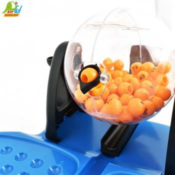 Playful Toys 頑玩具 賓果搖獎機007-79(賓果機 開獎機 搖獎機 抽籤 對對碰 趣味桌遊 多人遊戲 親子遊戲)
