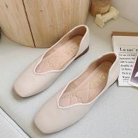 【Alice】氣質OL百搭圓尖平底鞋