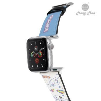 【Hong Man X Sanrio】 Apple Watch 皮革錶帶 大耳狗 42/44mm