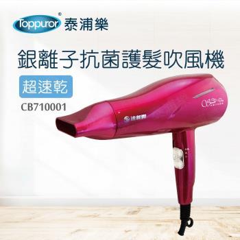 【達新牌】恆溫銀離子抗菌護髮吹風機TS2968(CB710001)