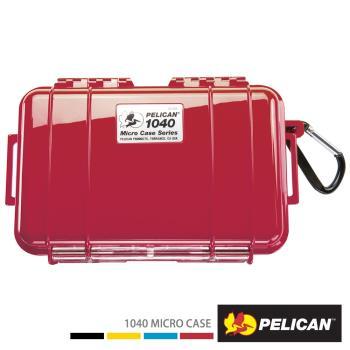 美國 PELICAN 1040 Micro Case 微型防水氣密箱-(紅)