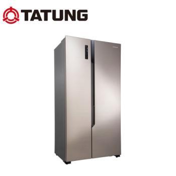 送超商禮券1500★TATUNG大同 540L一級能效變頻對開冰箱 TR-S540NVH
