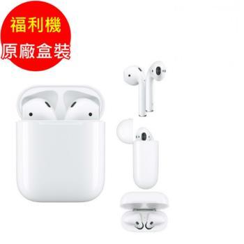 【原廠盒裝】福利品_Apple原廠AirPods(2019)藍芽耳機_MV7N2TA/A(九成新)