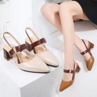 【Alice】時尚穿搭名媛必備款粗跟鞋