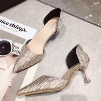 【Alice】獨家款OL風尖頭細跟鞋