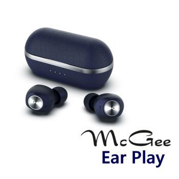 McGee 德國 真無線藍牙耳機Ear Play 高通晶片 穩定省電 午夜藍