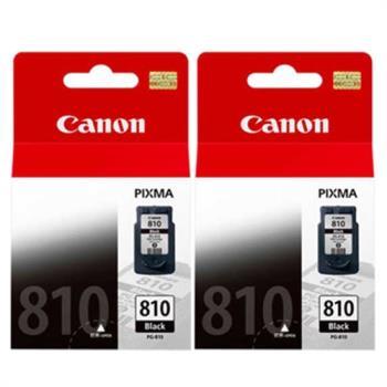 Canon PG-810 原廠黑色墨水組(2入)