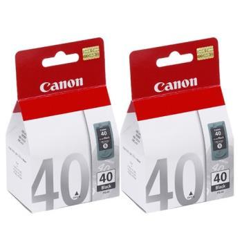 CANON PG-40 原廠黑色墨水匣組合 (2入)