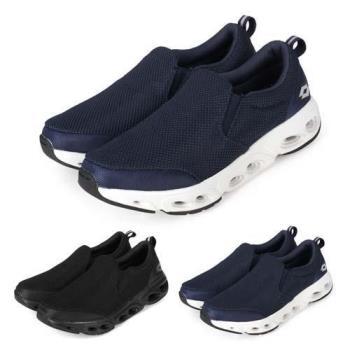 LOTTO 男風動健步鞋-健走鞋 懶人鞋 走路鞋