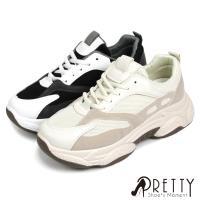 Pretty 時尚運動風厚底休閒鞋/ 老爹鞋BA-20502