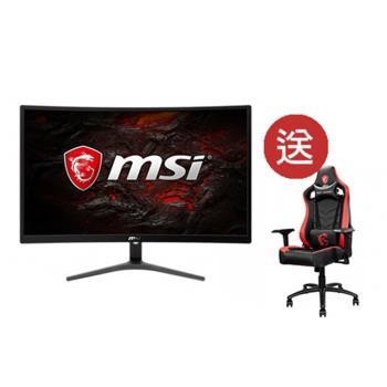 【MSI 微星】Optix G241VC 24型 1ms急速反應電競曲面螢幕+CH110龍魂電競椅組合價