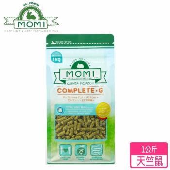 MOMI 摩米 - 摩米營養全G天竺鼠飼料 1公斤裝-兩包組(天竺鼠飼料)