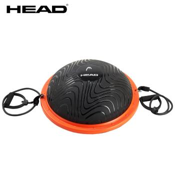 HEAD海德 防爆BOSU半圓平衡球 含乳膠彈力繩 球壁厚5MM承重500kg