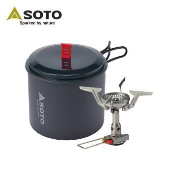 日本SOTO 攻頂爐組 SOD-320PC