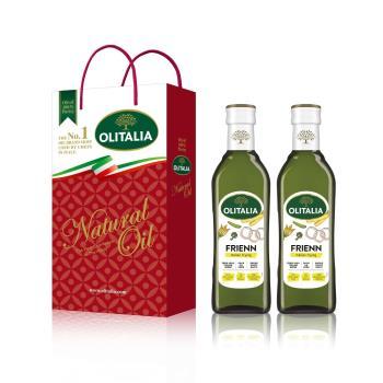 奧利塔高溫專用葵花油500毫升*6罐 (禮盒組)
