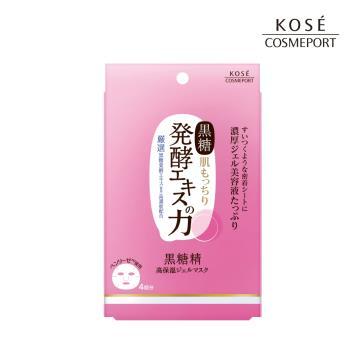KOSE黑糖精 超濃厚精華面膜4枚/入