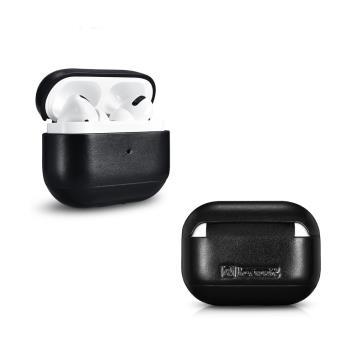 ICARER 復古系列 AirPods Pro 手工真皮保護套 蘋果無線耳機 收納保謢套