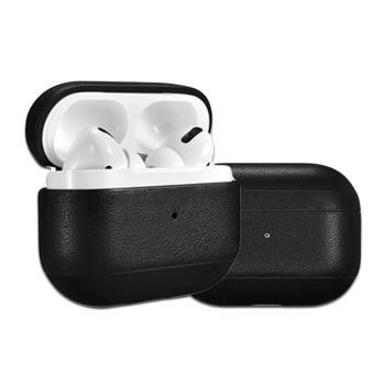 ICARER 納帕紋系列 Apple AirPods Pro手工真皮保護套 蘋果無線耳機 收納保謢套
